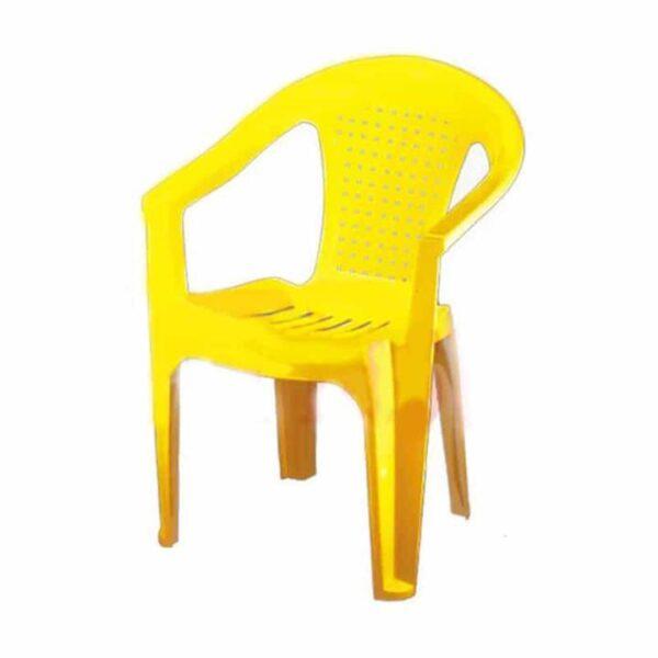 صندلی دسته دار پلاستیکی ناصر
