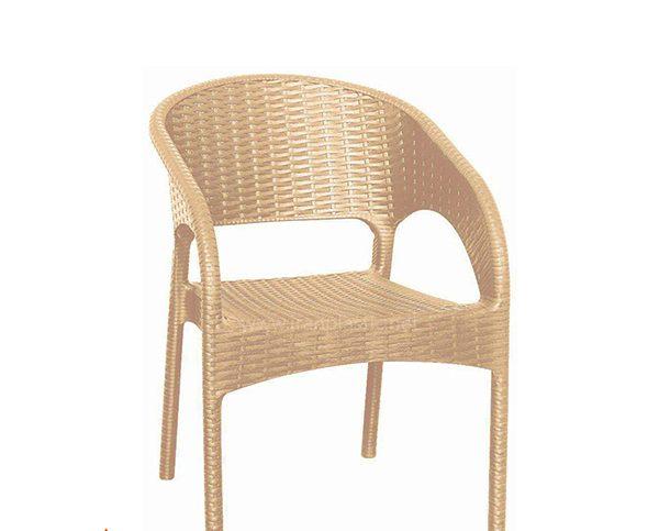 صندلی حصیری پلاستیکی ناصر